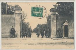 53 - Bourges - Quartier Auger  Infanterie - Militaria  Caserne - Bourges