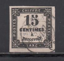 1863-70  Yvert Nº 3,  15 C. Noir. - 1859-1955 Usados