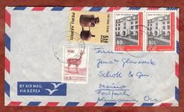 Luftpost, Vikunja U.a., Tingo Maria Nach Mainz 1971 (2557) - Perú
