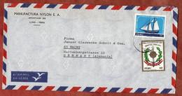 Luftpost, Armee U.a., Lima Nach Mainz 1971 (2559) - Perú