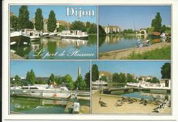 DIJON ( Côte D'Or ) , Le Port De Plaisance Sur Le Canal De Bourgogne , 1995 , Photo P. Viard - Dijon