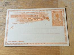 KO1 Belgisch Kongo Ganzsache Stationery Entier Postal P 15 - Enteros Postales