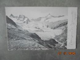 Zermatt. Le Massif Du Trift Gabelhorn Vellenkuppe PM 1916 Prisonniers De Guerre - VS Valais