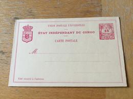KO1 Belgisch Kongo Ganzsache Stationery Entier Postal P 5I - Enteros Postales