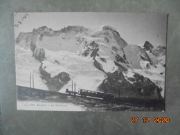 Zermatt. Le Breithorn. JJ 9582 PM 1916 Prisonniers De Guerre - VS Valais