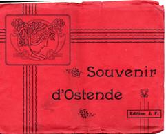 """_ Revue 12 Photos """" Souvenir D ' Ostende """"  Dim 14 X 18 Cm - Unclassified"""