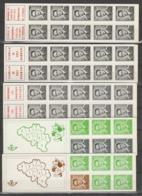 Boekjes 3 /7 ** - Booklets 1953-....