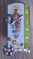 Pucelle 206° Promotion ENSOA Adj Abdallah Ben Ahmed - Armée D' Afrique - AFN - Hueste