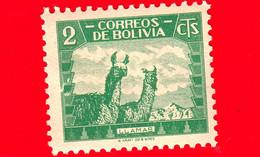 Nuovo - MNH - BOLVIA - 1939 - Fauna - Animali - Cammelli - Llama (Lama Glama) - 2 - Bolivië