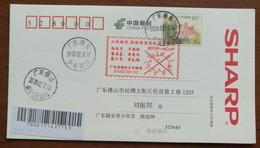 2019-nCoV Virus,CN 20 Chao'an Fighting COVID-19 Pandemic Novel Coronavirus Pneumonia Propaganda PMK Used On Card - Malattie