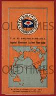 JAPAN - TOYO KISEN KAISHA ORIENTAL STEAMSHIP COMPANY - 1919 BROCHURE - World