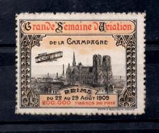 Vignette Semaine Aviation 1909 Reims Champagne - Aviation