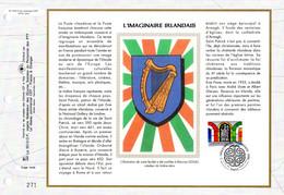 """"""" L'IMAGINAIRE IRLANDAIS """" Sur Feuillet CEF 1er Jour N°té Sur Soie De 1996. N° YT 2993 Parf état FDC - Non Classificati"""