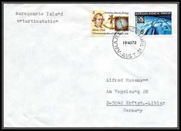 0765 AAT 1972 Lettre (cover) Australian Antarctic Territory (australie) MARCQUARIE ISLAND - Covers & Documents