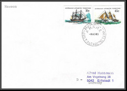 0769 AAT 1983 Lettre (cover) Australian Antarctic Territory (australie) - Covers & Documents