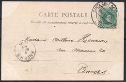 ESPANA - Espagne - 1905 - SANTA CRUZ DE TENERIF To Anvers Belgium - A4 - Non Classificati