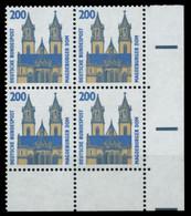 BRD DS SEHENSW Nr 1665 Postfrisch VIERERBLOCK ECKE-URE X75253E - Ungebraucht