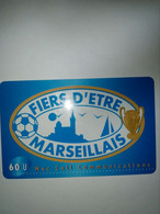 FRANCE PREPAID ECONO MAC CALL FIERS D ETRE MARSEILLAIS OM FOOTBALL 60U UT - Deportes