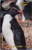 FALKLANDS : 001A L.7.50 Pinguin USED - Falklandeilanden