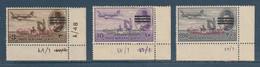 Egypt - 1953 - King Farouk - E&S - 3 Bars - Different Control No. - Ungebraucht