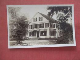 RPPC - Post Office  Jaffrey New Hampshire     Ref 4560 - Ohne Zuordnung