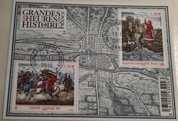 FRANCE LES GRANDES HEURES DE L HISTOIRE OBLITERE  F470  2012 Oblitéré 1er Jour Avec Gomme - Afgestempeld