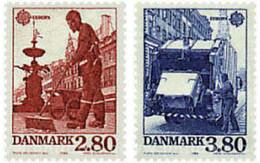 Ref. 96228 * MNH * - DENMARK. 1986. EUROPA CEPT. NATURAL AND ARTISTIC PATRIMONY . EUROPA CEPT. PATRIMONIO ARTISTICO Y NA - Automobili