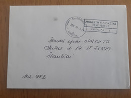 Lithuania Litauen Cover Sent From Kaisiadorys To Siauliai 2011 - Lituania