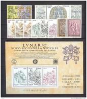 Vatican - 1982 ** Sans Charnière, TB ANNEE COMPLETE - Volledige Jaargang