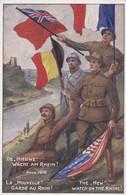 La Nouvelle Garde Au Rhin The New Watch On The Rhine - Guerra 1914-18