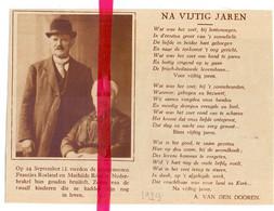 Orig. Knipsel Coupure Tijdschrift Magazine - Nederbrakel - Gouden Bruiloft Echtpaar Frans Roeland X Mathilde Roos - 1929 - Ohne Zuordnung