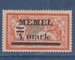 MEMEL         N°  YVERT   31 NEUF AVEC CHARNIERES   (Charn  2/42 ) - Nuevos