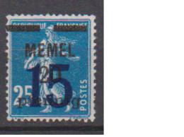 MEMEL         N°  YVERT   39    NEUF AVEC CHARNIERES   (Charn  2/42 ) - Nuevos