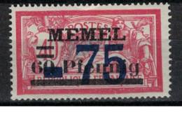 MEMEL         N°  YVERT   42   NEUF AVEC CHARNIERES   (Charn  2/42 ) - Nuovi