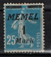 MEMEL         N°  YVERT   67   NEUF AVEC CHARNIERES   (Charn  2/42 ) - Nuevos