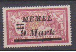 MEMEL         N°  YVERT   74  NEUF AVEC CHARNIERES   (Charn  2/42 ) - Nuevos