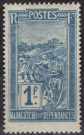 MADAGASCAR 143 ** MNH Transport En Filanzane 1922-1926 - Nuovi