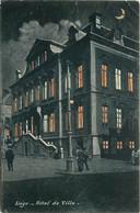 Belgique - Liège - La Nuit - Hôtel De Ville - Liège