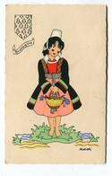 CPA   Illustrateur : ADDI   La Bretagne    A  VOIR   !!!! - Andere Zeichner