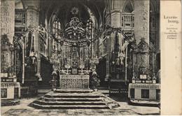 CPA AK LUXEMBOURG, Intérieur De La Cathédrale Pendant I'Octave (30501) - Luxemburg - Stad