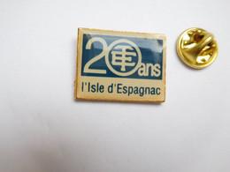 Beau Pin's , Ville De L'Isle D'Espagnac , 20 Ans De La Télémécanique , Charente - Cities