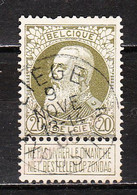 75  Grosse Barbe - Oblit. Centrale LIEGE EXPOSITION - LOOK!!!! - 1905 Thick Beard