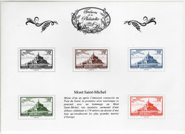 BLOC FEUILLET** TRESORS DE LA PHILATELIE 2015 - MONT SAINT MICHEL - Mint/Hinged