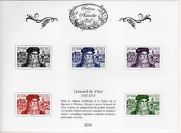 BLOC FEUILLET** TRESORS DE LA PHILATELIE 2016  LEONARD DE VINCI 1452 1519 - Mint/Hinged
