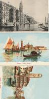 ITALIE - VENISE - 3 CPA - Venezia (Venice)