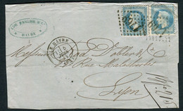 FRANCE ( OBLITERATION LOSANGE ) GC  1769  Havre (le)  Seine-Inférieure (74)   , A SAISIR .fra - 1849-1876: Periodo Classico