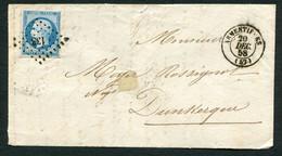 FRANCE ( OBLITERATION LOSANGE ) PC  133  Armentières  Nord (57) , A SAISIR .fra - 1849-1876: Periodo Classico