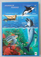 Bloc-feuillet YT N° 48 Nature De France. Faune Marine. Neuf ** - Mint/Hinged