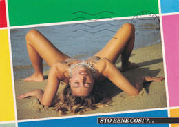 """DONNINE - """"""""STO BENE COSì?"""" - DONNINA IN POSA SEXY - WOMAN POSE - PIN UP - CHARME - NUDE - NAKED - 1993 - Pin-Ups"""
