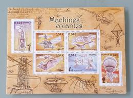 Bloc-feuillet YT N° 103 Les Machines Volantes. Neuf ** - Mint/Hinged